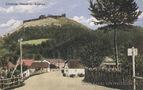 Хустський замок на старій листівці 6