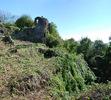 Хустський замок: західна частина