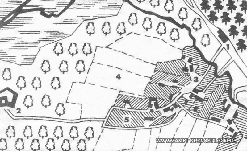Пятничаны: карта-схема