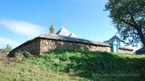 Росохи: общий вид на стену церкви с северо-запада