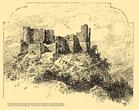 Хустський замок - старе зображення
