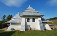 Росохи: вид на церковь с юга