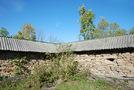 Росохи: северо-восточный угол внешней стены церкви