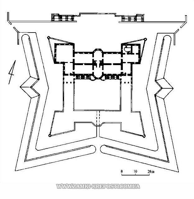 Подгорецкий замок: план