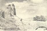 Королівський замок Нялаб на старому фото
