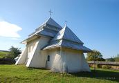 Росохи: вид на церковь с юго-востока