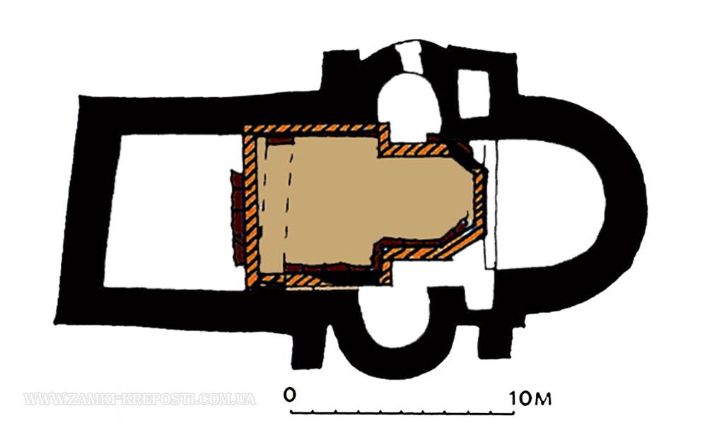 каменного храма. Схема