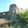 Хустський замок: вежа в західній стіні