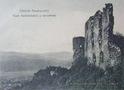 Хустський замок на старій листівці 13