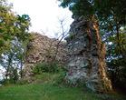 Замок Нялаб - килевидная вежа 4