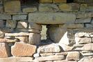 Росохи: бойница в северной стене церкви 2
