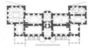 Подгорецкий замок: планировка 2-го этажа дворца (2)