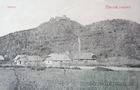 Хустський замок на старій листівці 7