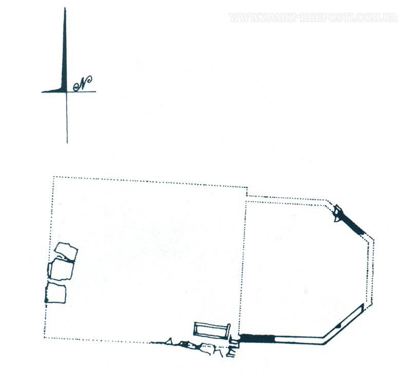 план деревянного храма,