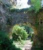 Хустський замок: арка воріт з півночі
