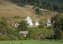 Росохи: общий вид на комплекс церкви с запада