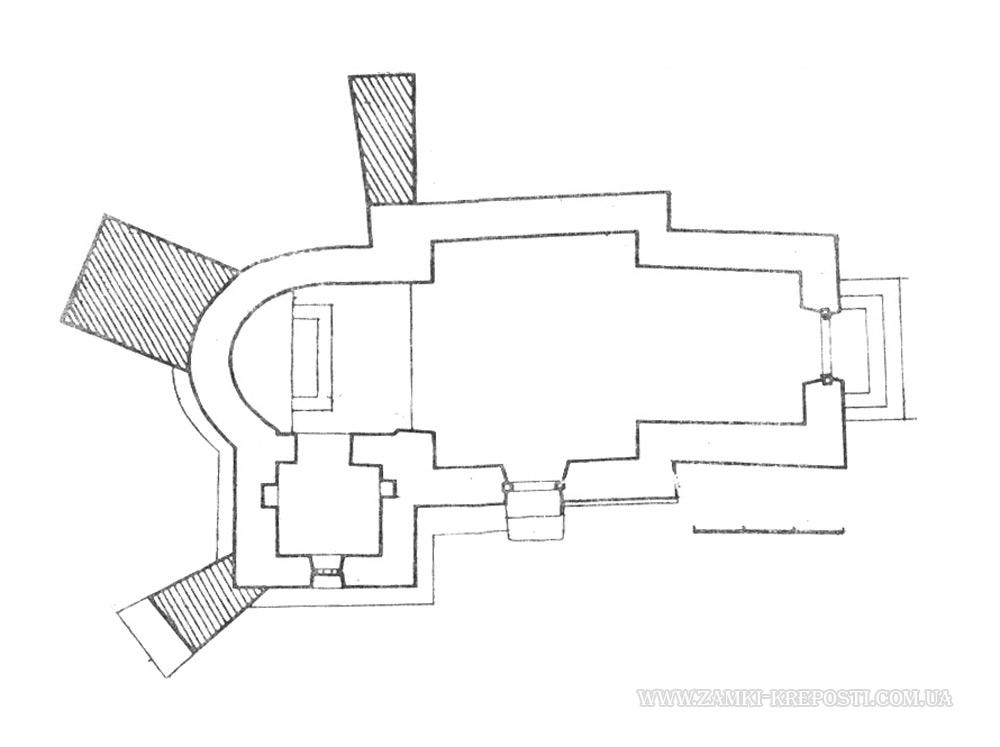 Церковь в Касперовцах: проект